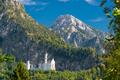 Neuschwanstein Castle in the Bavarian Alps of Germany - PhotoDune Item for Sale
