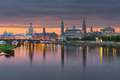 Dresden, Germany above the Elbe River - PhotoDune Item for Sale
