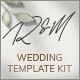 Robbie & Magie – Wedding Event Invitation Elementor Template Kit - ThemeForest Item for Sale