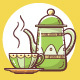 Hand-Drawn Teapots and Cups - GraphicRiver Item for Sale