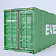 Container Pack 3D - 3DOcean Item for Sale
