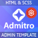 Admintro - Dashboard HTML Template