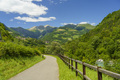 Serio river along the cycleway of Val Seriana at Ponte Nossa - PhotoDune Item for Sale