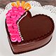 Heart shaped cake - 3DOcean Item for Sale
