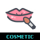 Cosmetic & Beauty Line with Color - GraphicRiver Item for Sale
