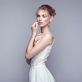 Fashion portrait of beautiful young woman with blond hair - PhotoDune Item for Sale
