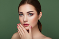 Beauty brunette woman with perfect makeup - PhotoDune Item for Sale