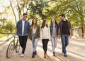Students walking together - PhotoDune Item for Sale