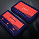 Blue Red Business Card - GraphicRiver Item for Sale
