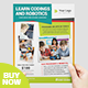 Kids Education Flyer Learn Coding & Robotic - GraphicRiver Item for Sale