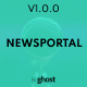 Newsportal - News and Magazine Ghost Blog Theme - ThemeForest Item for Sale