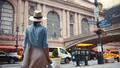 Young girl at the at the Central Station, NYC - PhotoDune Item for Sale