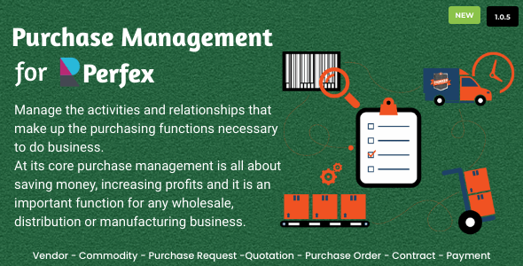 Purchase Management for Perfex CRM Download