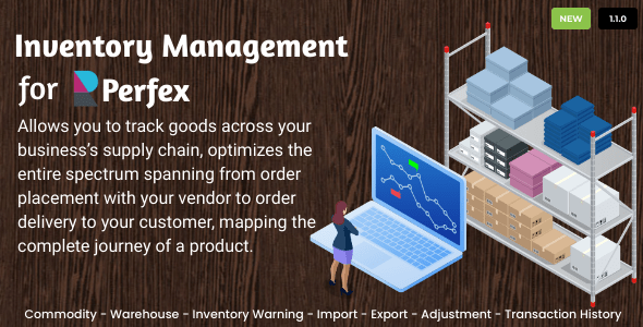 Inventory Management for Perfex CRM Download
