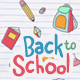 Doodle Background - Back To School - VideoHive Item for Sale
