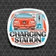 Vector Electric Car Charging Station - GraphicRiver Item for Sale