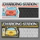 Vector Layouts for Electric Car Charging Station - GraphicRiver Item for Sale