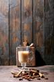 Masala chai served with cinnamon - PhotoDune Item for Sale