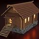Wooden hut - 3DOcean Item for Sale