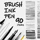 Pencil Brushes, Paint Stroke Brushes. Hand drawn grunge strokes. Pen Ink grunge. Scribble marker - GraphicRiver Item for Sale