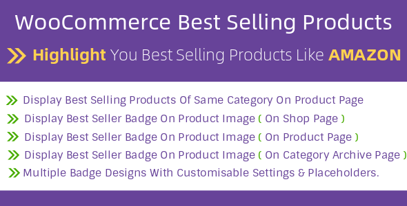 WooCommerce Best Seller Highlighter