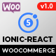Ionic React Woocommerce - Universal Full Mobile App Solution for iOS & Android / Wordpress Plugins - CodeCanyon Item for Sale