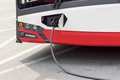 Electric bus at the charging station - PhotoDune Item for Sale