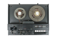 Old audio tape racorder on white background - PhotoDune Item for Sale