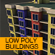 Low Poly Buildings Pack - 3DOcean Item for Sale