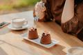 Double tiramisu dessert decorated with fresh berries - PhotoDune Item for Sale
