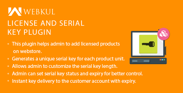 WooCommerce License and Serial Key PluginPrice : $49