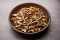 Dried green mango strips or kaccha aam or sookhi kairi or amchoor, selective focus - PhotoDune Item for Sale