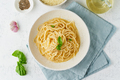 Cacio e pepe pasta. Spaghetti with parmesan cheese and pepper - PhotoDune Item for Sale
