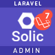 Solic  –  Admin Laravel Template - ThemeForest Item for Sale