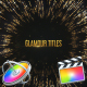 Glamour Titles - Apple Motion - VideoHive Item for Sale