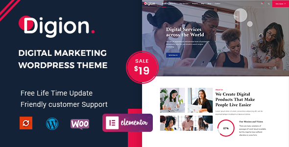 Digion – Online Digital Marketing WordPress Theme