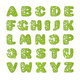 Green Font with Holes That Looks Like Slime - GraphicRiver Item for Sale