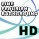 Line Flourish Background - VideoHive Item for Sale