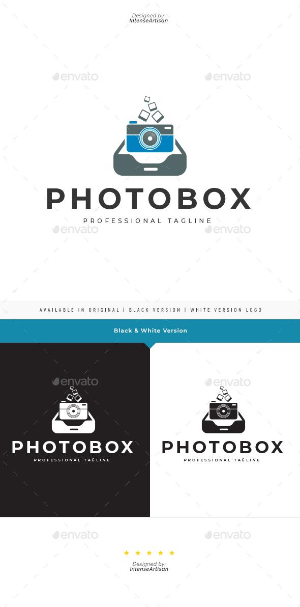Photo Box Logo Template