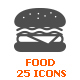 Food and Meal Filled Icon - GraphicRiver Item for Sale