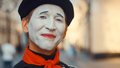 Smiling mime close-up - PhotoDune Item for Sale