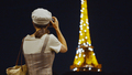 Young photographer at the glowing Eiffel Tower in Paris - PhotoDune Item for Sale