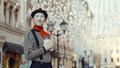 Elderly mime on the street - PhotoDune Item for Sale