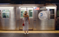 Attractive girl waiting for a train in the subway - PhotoDune Item for Sale