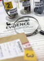 Various laboratory tests forensic equipment, conceptual image - PhotoDune Item for Sale