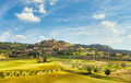 Casale Marittimo village and countryside in Maremma. Tuscany, Italy. - PhotoDune Item for Sale