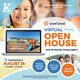 Virtual Open House Flyer Templates - GraphicRiver Item for Sale
