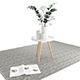 Decoration Set - Livingroom 01 - 3DOcean Item for Sale