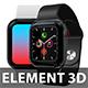 Apple Watch for Element 3D & Cinema 4D - 3DOcean Item for Sale