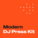 Modern DJ Press Kit & Resume Template - GraphicRiver Item for Sale